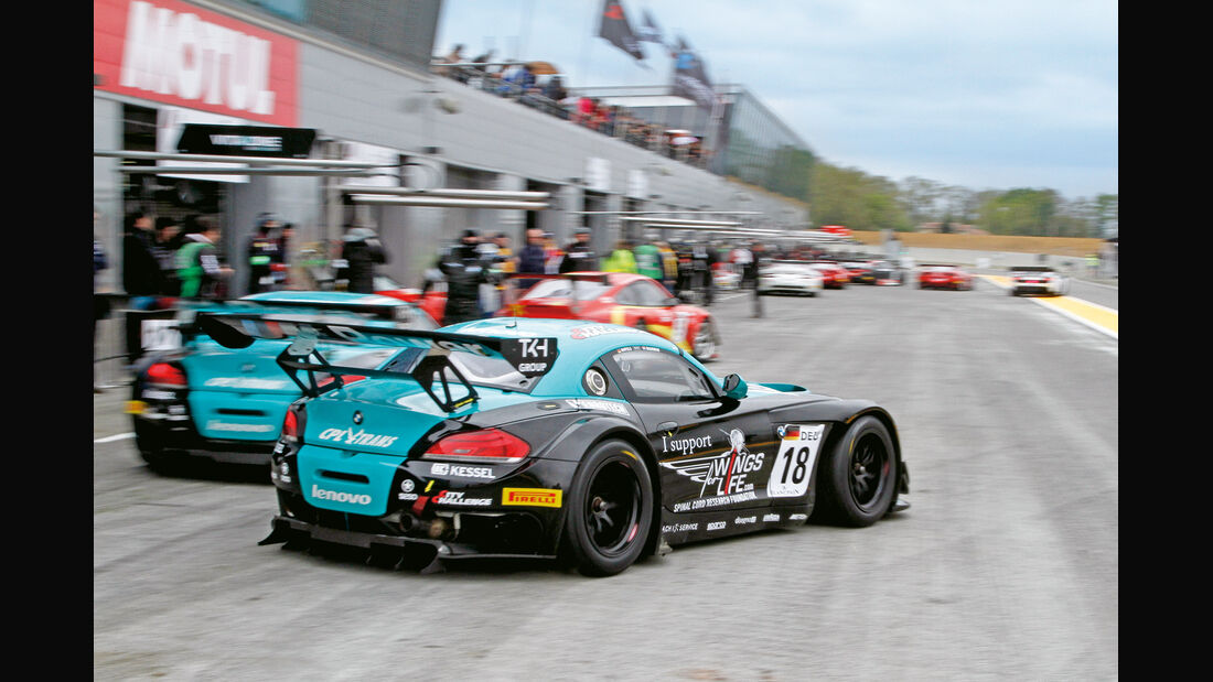 BMW-GT, Michael Bartels, Nogaro