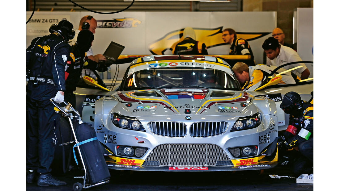 BMW GT3, Box