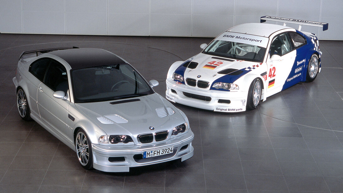 BMW GTR - Straßenversion & Rennversion 2003