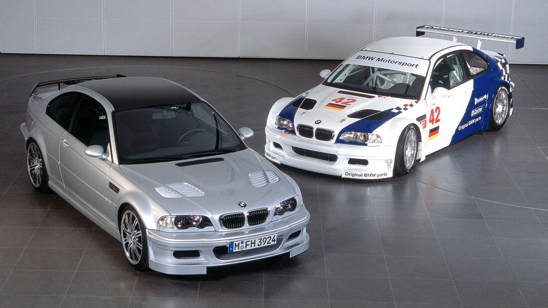 BMW GTR - Straßenversion & Rennversion 2003