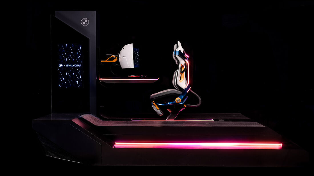 BMW Gaming-Stuhl, The Rival Rig