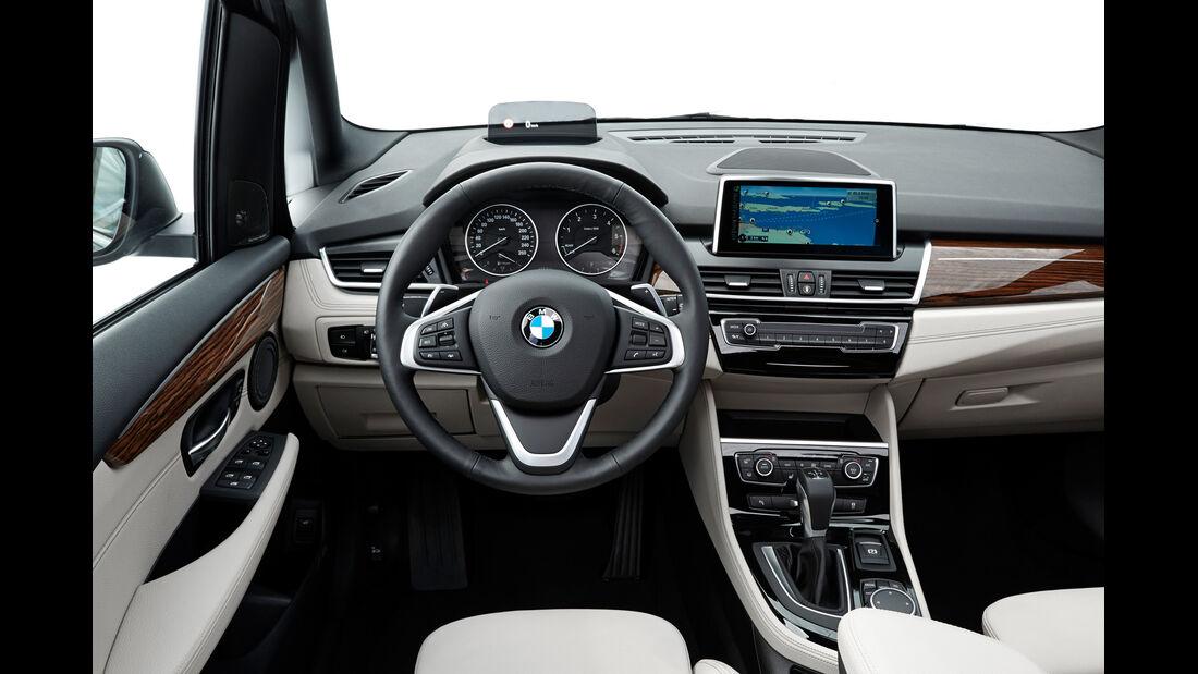 BMW Gran Tourer 220d xDrive, Cockpit