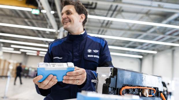 BMW Group Zellfertigung Akku Batterie Leipzig