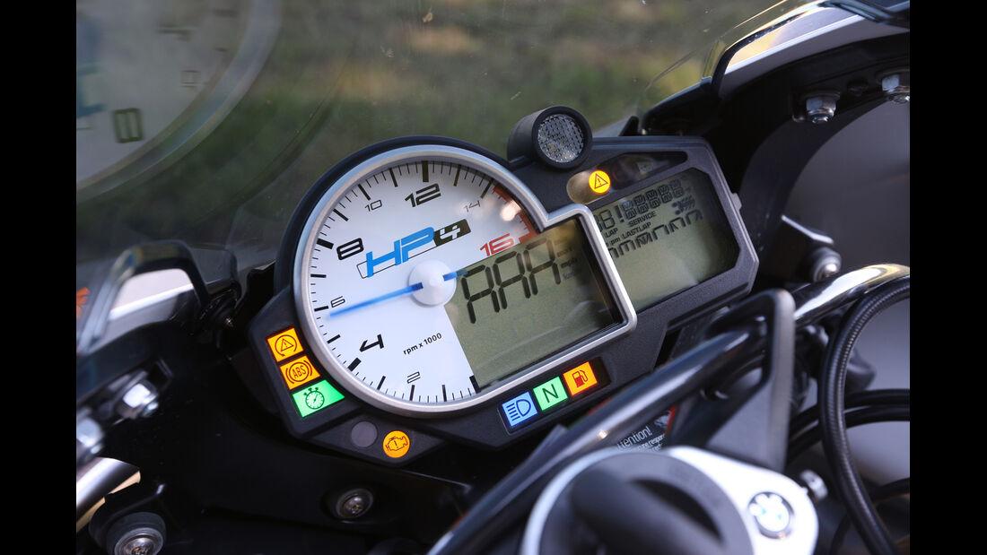 BMW HP4, Rundinstrument