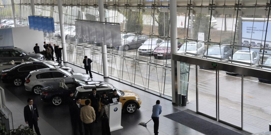 BMW-Händler in China