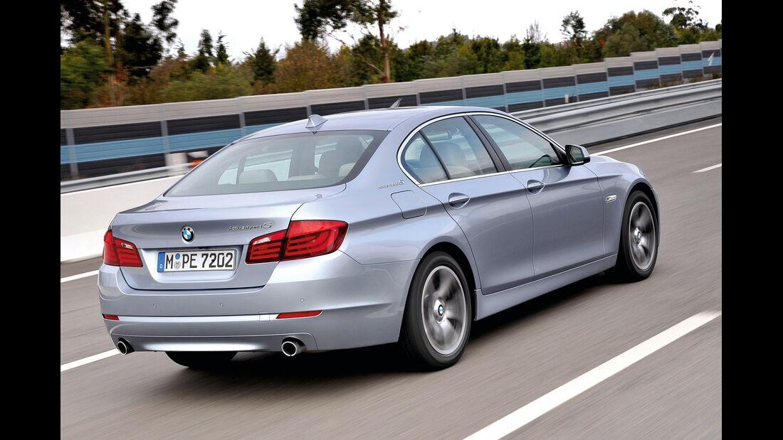 BMW Hybrid, Seitenansicht