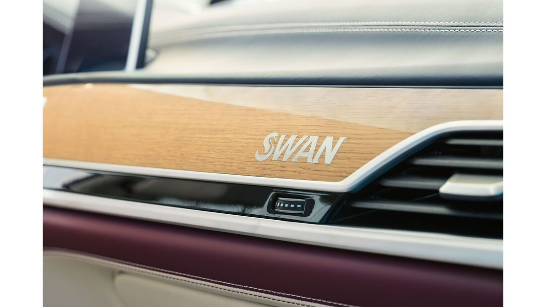 BMW Individual M760Li inspired by Nautor's Swan