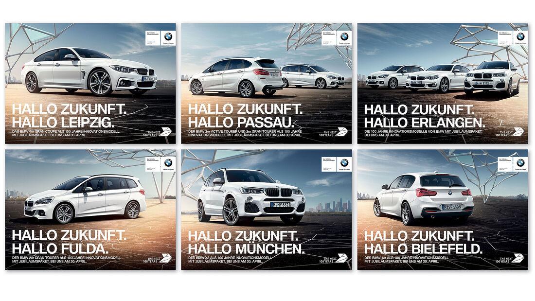 BMW Innovationsmodelle 100