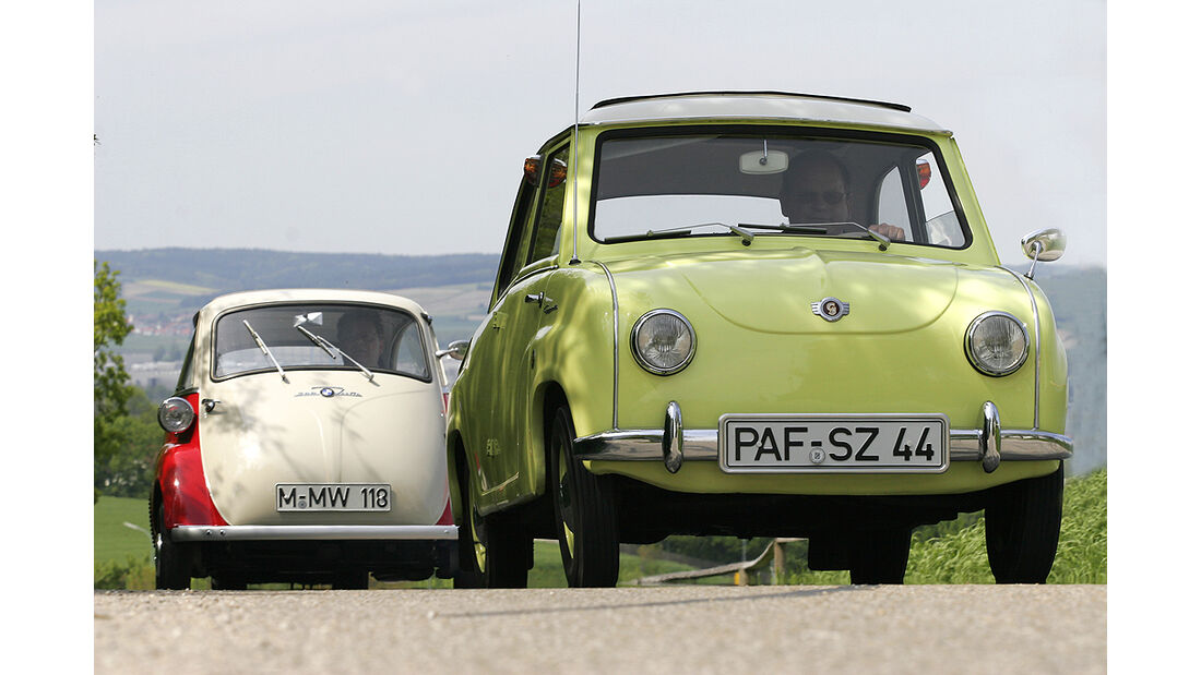 BMW Isetta 300 und Goggomobil T 250