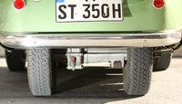 BMW Isetta, Heck, Räder