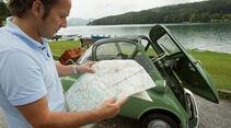 BMW Isetta, Karte, Seitenansicht