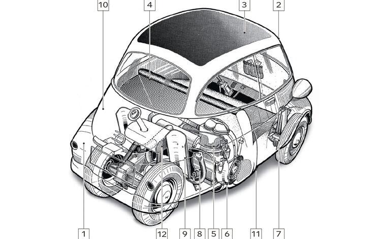 BMW Isetta, Schwachstellen