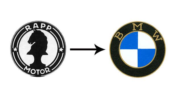 BMW Logo Rapp Motoren