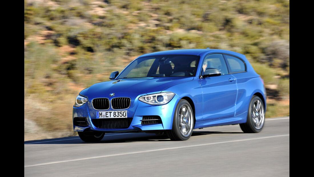 BMW M 135i, Seitenansicht