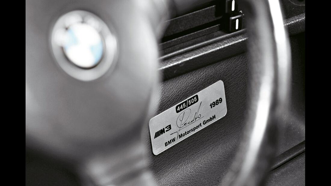 BMW M 3 Cecotto, Typenbezeichnung