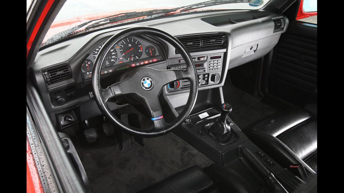 BMW M 3, Cockpit, Lenkrad
