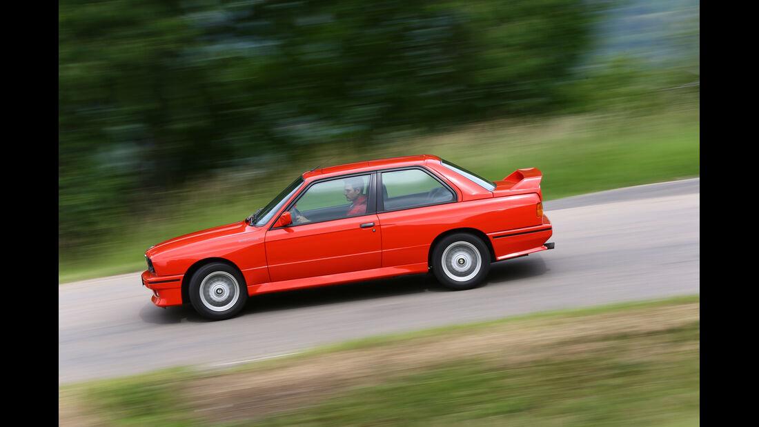 BMW M 3, Seitenansicht