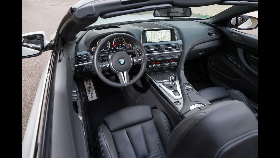 BMW M 6 Cabrio, Cockpit