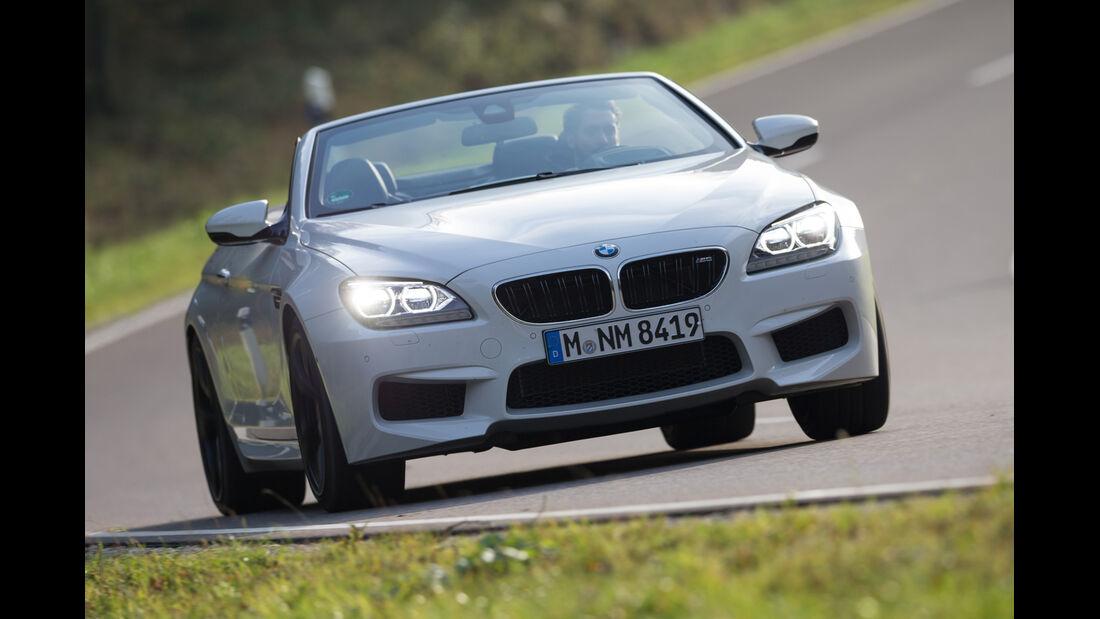 BMW M 6 Cabrio, Frontansicht