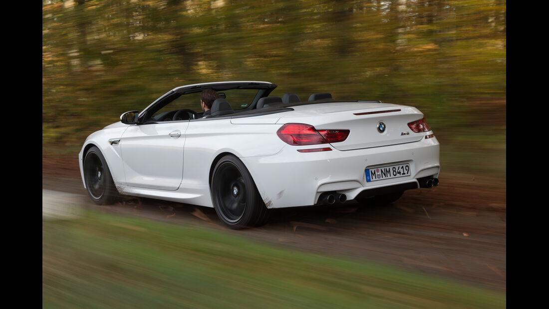 BMW M 6 Cabrio, Heckansicht