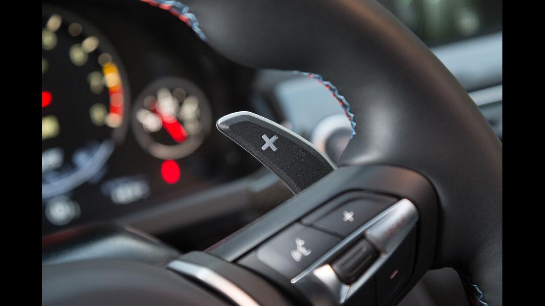 BMW M 6 Cabrio, Lenkradschalter