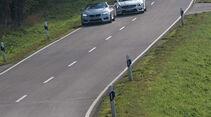 BMW M 6 Cabrio, Mercedes SL 63 AMG, Frontansicht