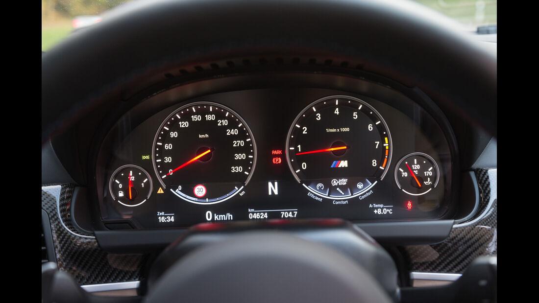 BMW M 6 Cabrio, Rundinstrumente