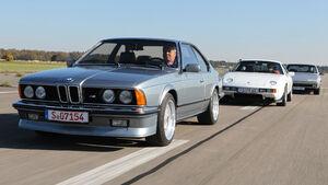 BMW M 635 CSi Typ E 24, Ferrari 412, Porsche 928 S
