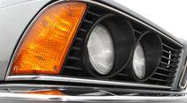 BMW M 635 CSi Typ E 24, Frontlicht, Detail