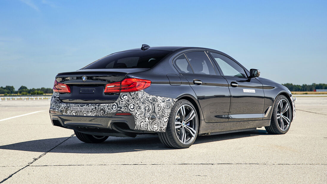 BMW M GmbH, BMW 5er BEV, Exterieur