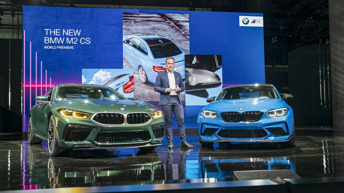 BMW M GmbH, Präsentation M2 CS