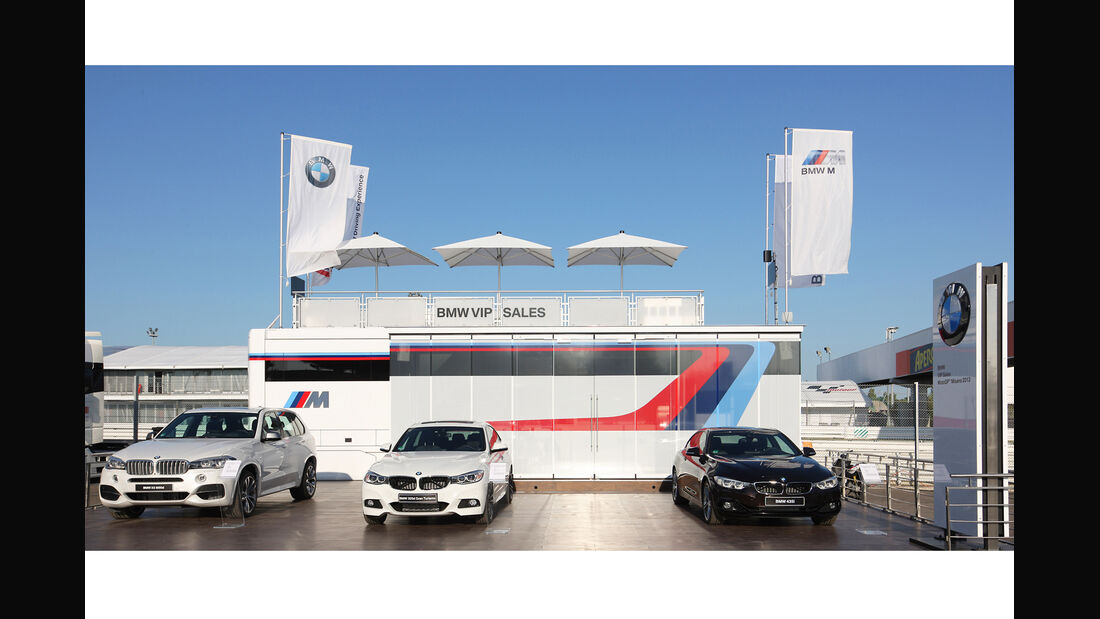 BMW M Motorhome 2014