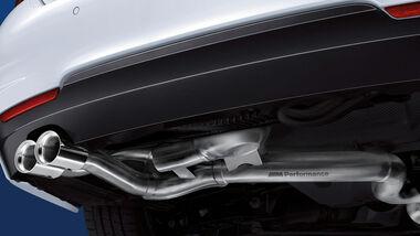 BMW M Performance Active Sound Auspuff