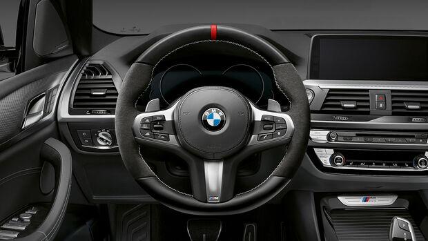 BMW M Performance Parts X-Modelle 2018