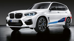 BMW M Performance Parts X3 M und X4 M