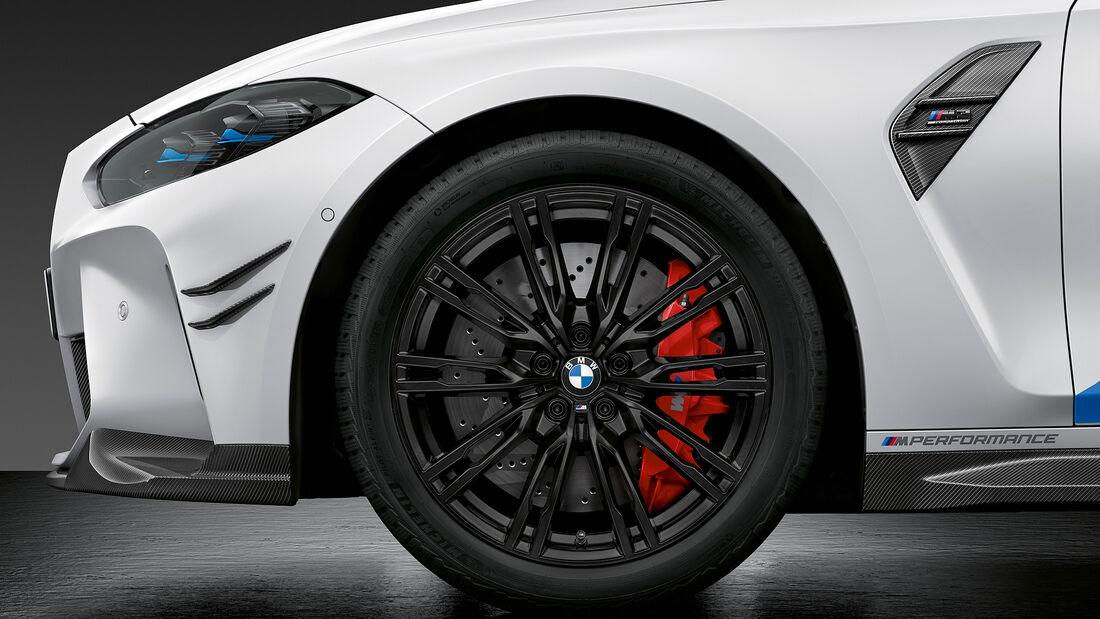 BMW M Performance Parts für M3 und M4
