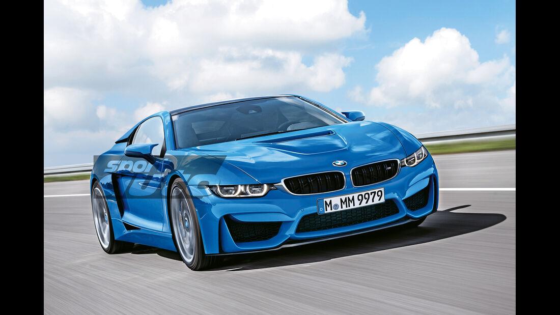 BMW M Turbo, Frontansicht