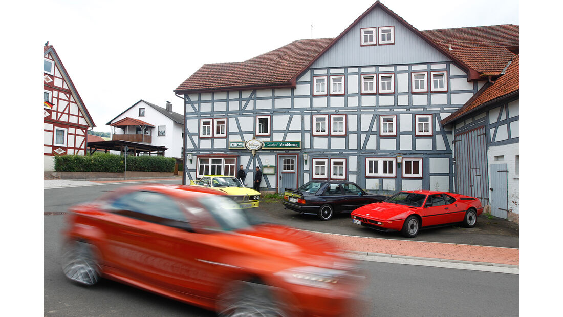 BMW M, alle Fahrzeuge, Seitenansicht