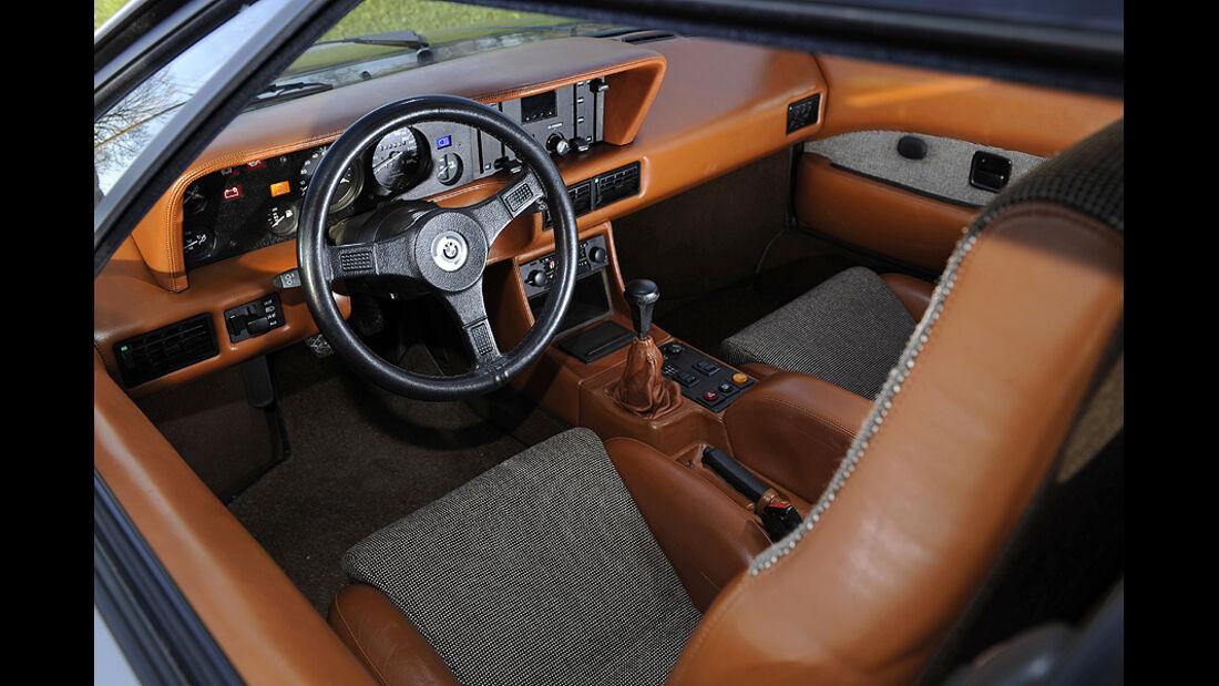 BMW M1, Cockpit, Detail