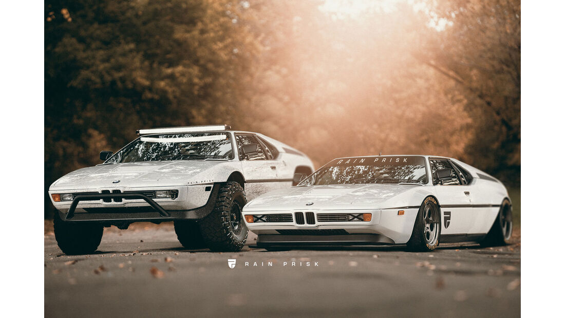 BMW M1 - Design-Konzept - Grafikkünstler Rain Prisk