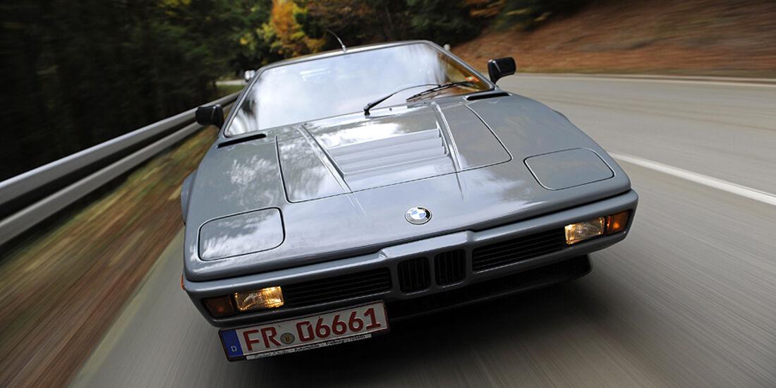 BMW M1, Front