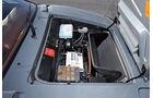 BMW M1, Fronthaube, Wasserkühler, Detail