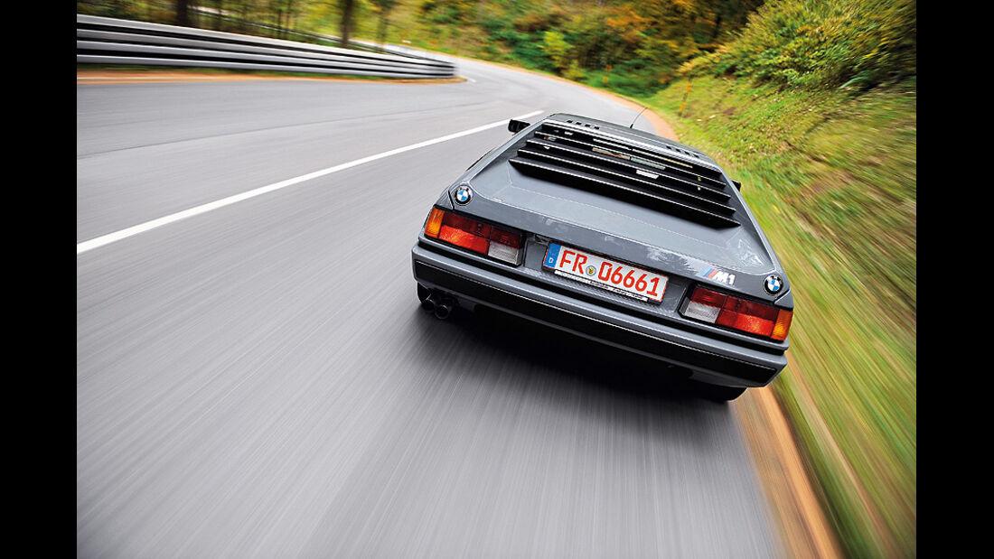 BMW M1, Heck