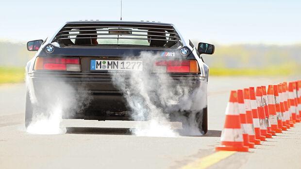 BMW M1, Heckansicht