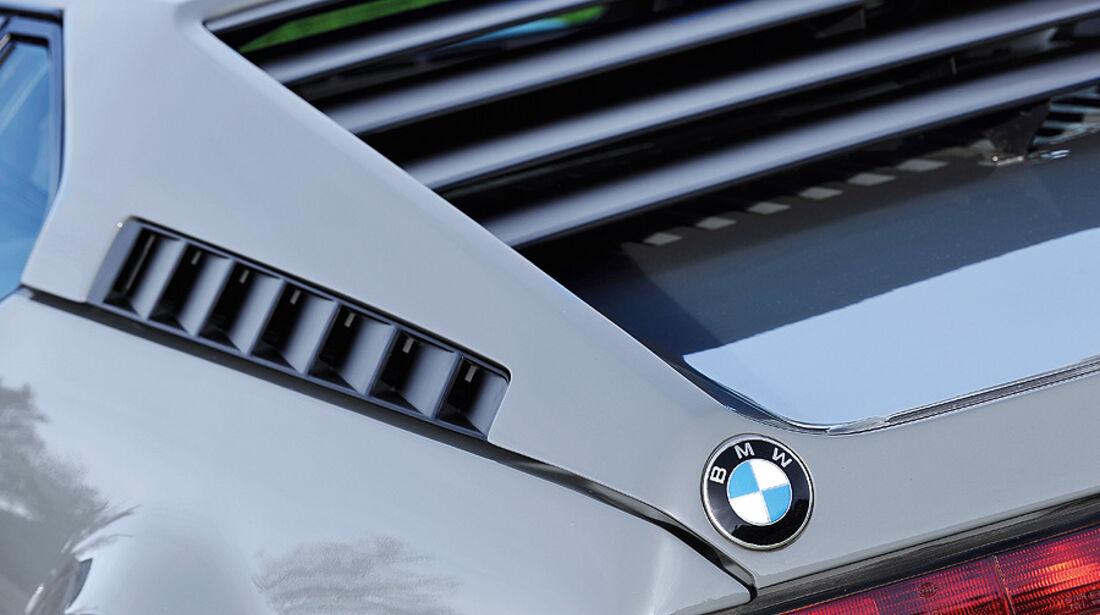BMW M1, Hecklichter, Detail