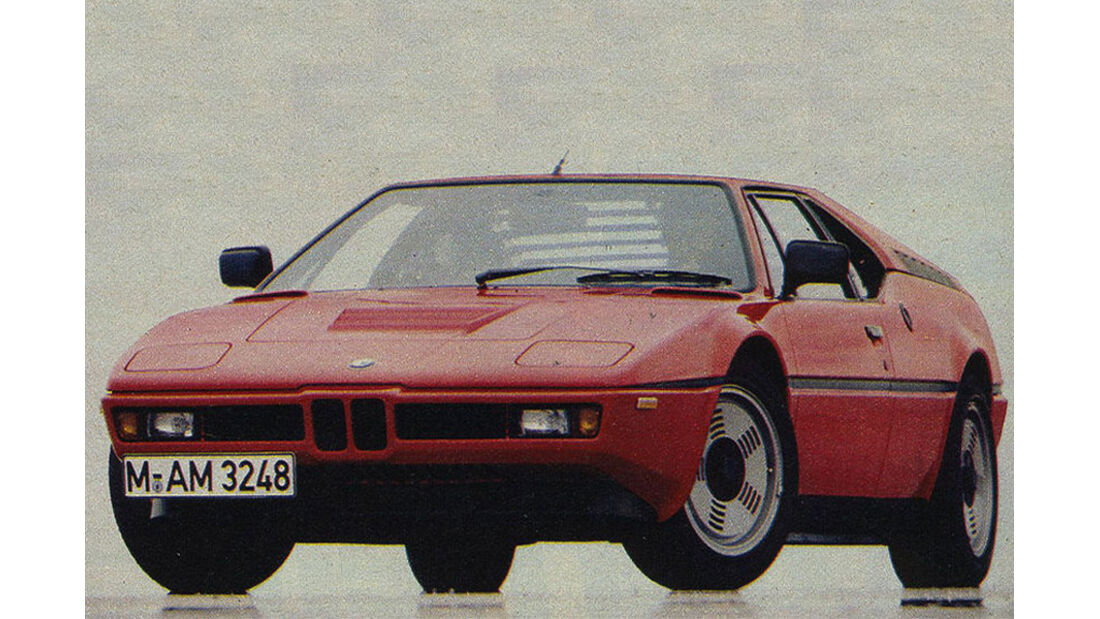 BMW, M1, IAA 1979