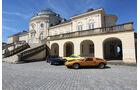 BMW M1, Mercedes C111, Porsche Carrera RS 2.7, Seitenansicht