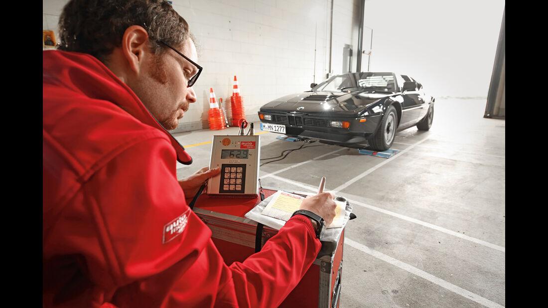 BMW M1, Messdaten