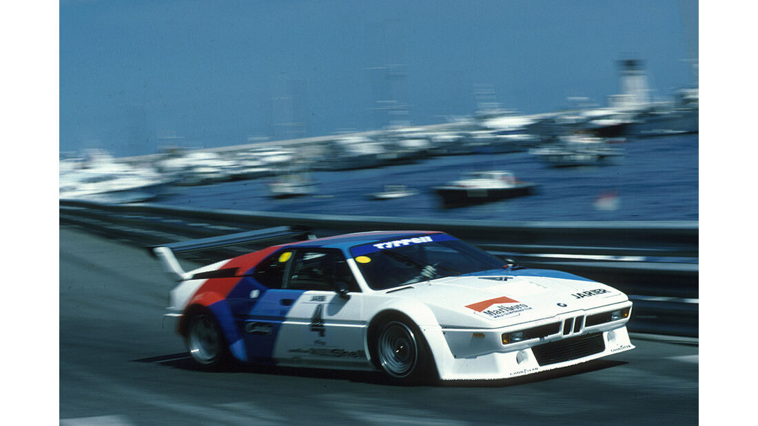 BMW M1 Procar Monaco 1979