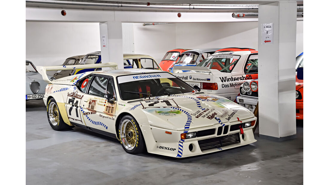 """BMW M1 Procar """"Wirtshaus"""" - Baujahr 1980 - Rennwagen - BMW Depot"""
